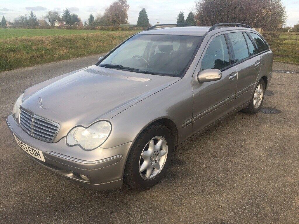 2004 Mercedes c 180 estate Kompressor