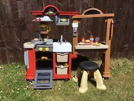Little tikes kitchen and restaurant £70