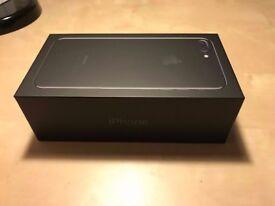 Apple Iphone 7 plus Jet Black 128 gb Unlocked