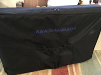 Professional Massage Therapist Portable Couch Excellent Condition