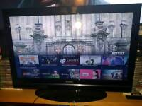 "📺DigiHome 32"" Smart LCD TV Television📺Built In DVD📺2 HDMI 1 USB📺FreeView HD📺"