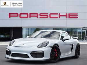 2016 Porsche Cayman GT4 GT4, UNLIMITED KM WARRANTY