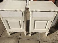 Chic dressing table and 2 bedside tables brought for £80 to up cycle but haven't will except £50
