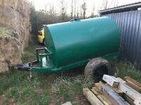 500 gallon towable water bowser
