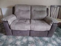 DFS Electric 2-seater Reclining Sofa x 2