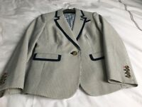 Boden striped jacket, size 10