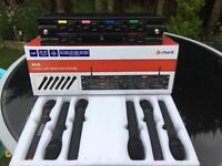 6 UHF Radio Mic System