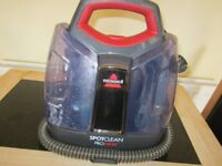 BISSELL Homecare SpotClean Pro heat Stain Remover Carpet Rugs Car Seat