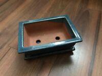 Bonsai pot & tray