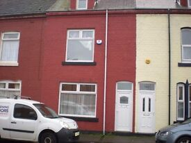 2 bed Terraced House Alma Street Hartlepool. NO Bond, NO Admin Charge. Housing Benefit Welcome