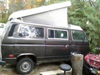 1986 VW Westfalia Vanagon camper (Looking for parts/not for sale