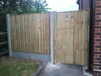 🏡 Tanalised High Quality Wooden Garden Fence Panels