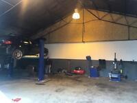 Established Garage & Tyre Shop For Sale
