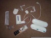 Philips Sonicare toothbrush heads & toothbrush sanitizer & other accessories