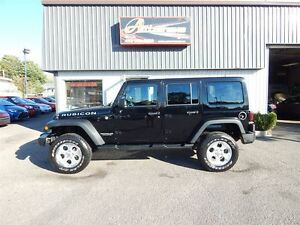 2016 Jeep WRANGLER UNLIMITED Rubicon 3.6L 6 VITESSES CUIR GPS FU
