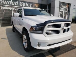 2017 Ram 1500 Sport| Leather| UConnect| Side Step| Locking Tailg