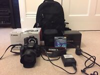 Canon EOS 550D with Sigma 30MM F1.4 EX DC lens and Hoya ND filter + extras