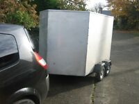 Box Trailer suitable for quad motorbike golf buggy market mx car boot lawnmower trackbike
