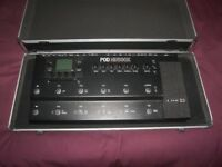 Stagg Hard Case / Pedal Board for Line6 POD HD500X , X3 Live , Digitech , KORG , BOSS , ZOOM