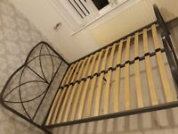 Sliver bed frame