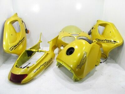 Triumph T595 955 Daytona Fairing Kit OEM Complete Gas Tank Upper Lower 97-98
