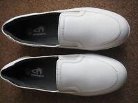 Ladies white bowling shoes