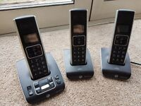 bt synergy 3 cordless phones and bases