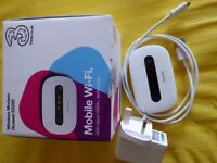Mobile Wireless device, E5220, white colour, hardly used for sale