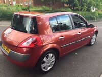 Renault MEGANE 2002, 1.6 engine