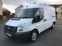 NOVAT 07(57) Ford Transit T260M MWB, Semi High Roof, 2.2TDCI Brand New Ply-Lining 95K Miles, Parrot.