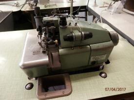 3 Thread Overlock Industrial Sewing Machine - Willcox & Gibbs 500/1