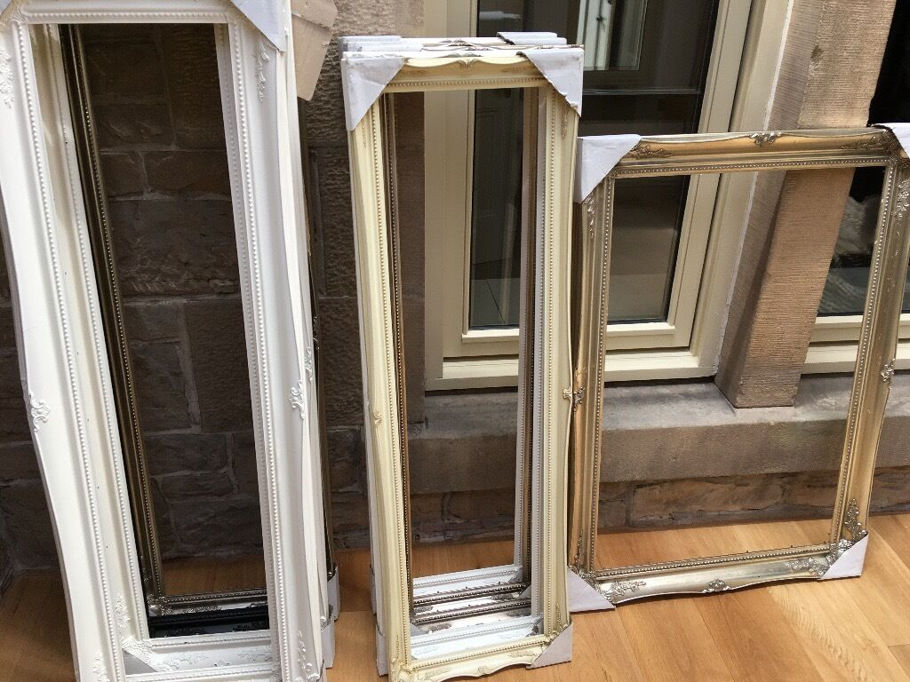 Job Lot 11 Wooden Picture/Mirror Frames