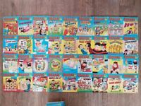 Vintage Collection of 63x Beano Comic Library Books & 9x Comic Library Specials