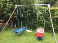 Kids Garden Triple Swing - TP