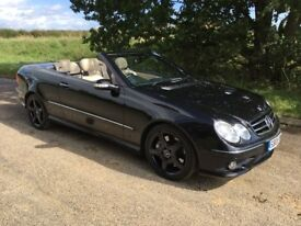 Mercedes CLK 350 AMG Sport Convertible Huge Spec Low Mileage FSH Spectacular Condition !!