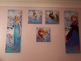 Disney's Frozen Canvasses
