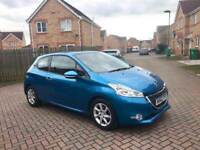 2013 PEUGEOT 208 ACTIVE 1.4 DIESEL, £0 TAX, CRUISE, BLUETOOTH, AUX AND USB