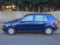 1999 Volkswagen/VW Golf 1.6 SE 5dr Hatchback. FSH