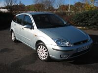 A very clean and tidy 1.8 Ghia Ford Focus. Full MOT. Family owned and run since 2010