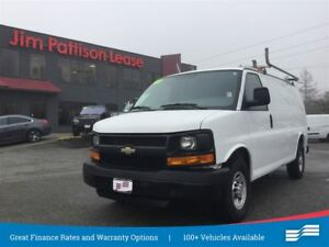 2014 Chevrolet Express 2500 2WT w/shelving, parition, ladder rac
