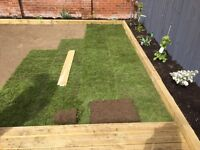 Block paving , decking, turf laying