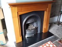 Complete Fireplace - Mantle, Hearth, Surround