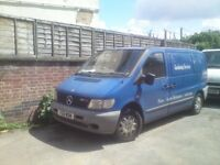 MERCEDES VITO 110 CDi, 2.1 TDi 2001 Y-REG with TWIN SIDE DOORS... CHEAP CLEARENCE!!!!