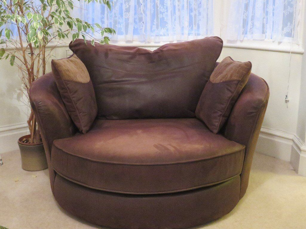 Astounding Snuggle Swivel Armchair In Malvern Worcestershire Gumtree Pabps2019 Chair Design Images Pabps2019Com