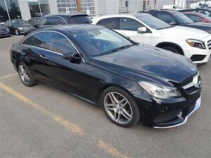 2014 Mercedes-Benz E350 4matic Coupe Premium Package, AMG Sport