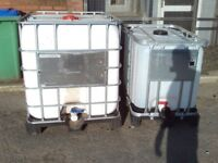 1000 litre water tank clean