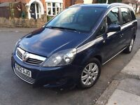 2012*VAUXHALL ZAFIRA EXCITE 1.7 CDTI ECOFLEX*6 SPEED*1 OWNER FROM NEW*FULL MAIN DEALER SERVICE