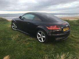 Audi TT 2.0 TDI QUATTRO S LINE 2d (Phantom Black Pearl)
