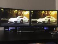 """ASUS 21.5"""" HD LED monitors VS228DE x2"""