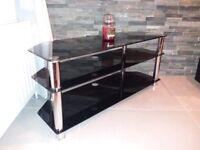 Glass TV Stand £20